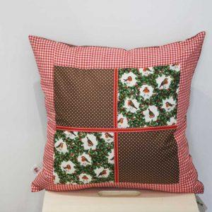 Poduszka z rudzikami