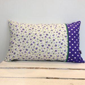 Poduszka fioletowe kwiatki