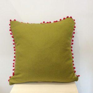 Zielona z czerwonym