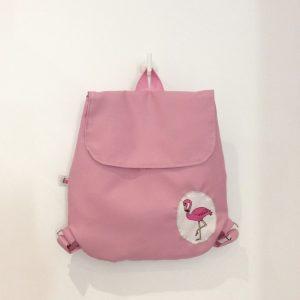 Plecak z flamingiem