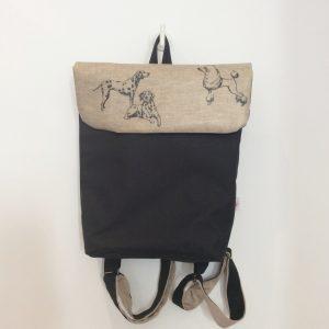 Plecak z psami