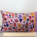 Poduszka z kawiarkami Be- być i Tworzyć