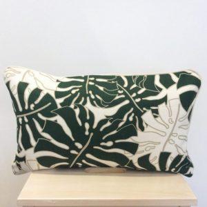 Zielone liście z beżem
