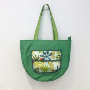 Mała zielona torba