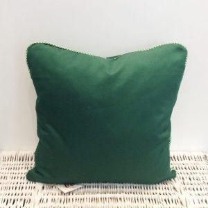 Poduszka butelkowa zieleń