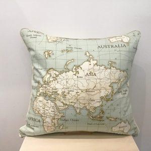 Poduszka z mapą