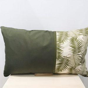 Poduszka palmowa z khaki