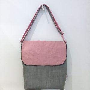 Letter bag in linen
