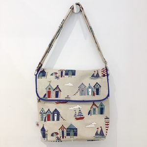 Letter bag in marine style