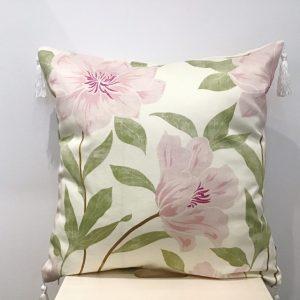 Poduszka różowe kwiaty