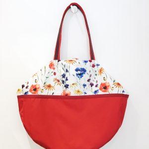 Bag double-sided field flowers