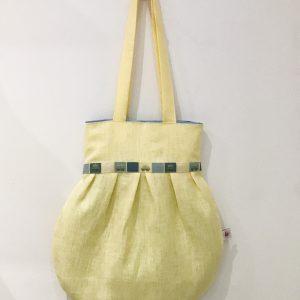 Bag yellow linen