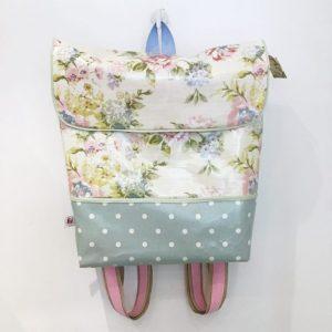 Plecak pastelowe kwiaty